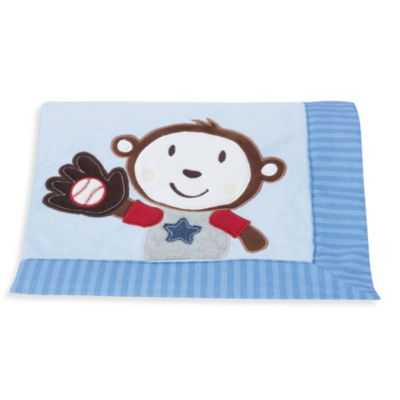 Summer Infant Team Monkey Blanket