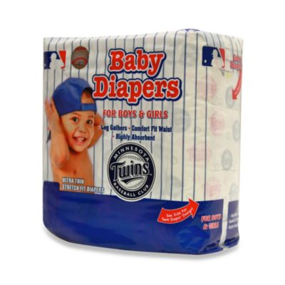Minnesota Twins Size 5 MLB® Supreme 20-Count Baby Diapers