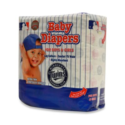 Minnesota Twins Size 6 MLB® Supreme 18-Count Baby Diapers