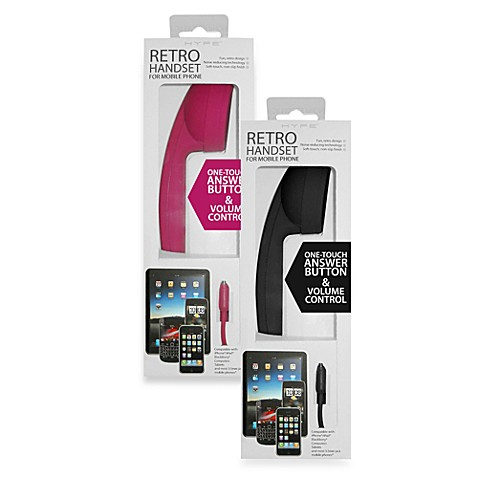 Hype Retro Handset for Mobile Phone