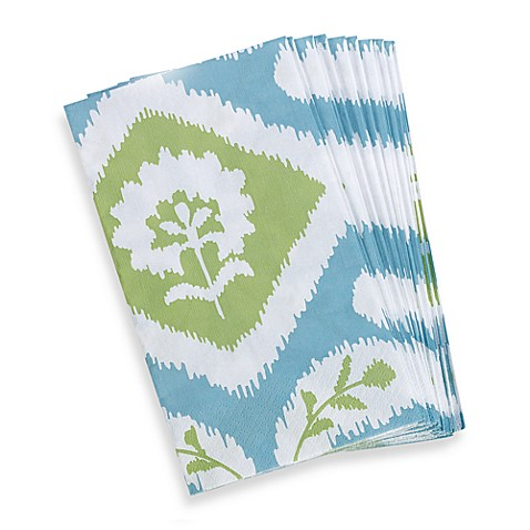 Ikat Paper Guest Towels (Set of 15)