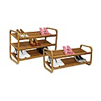 Oceanstar Multi-Tier Bamboo Shoe Rack