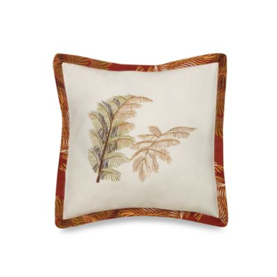 Tommy Bahama™ Orange Cay Square Toss Pillow