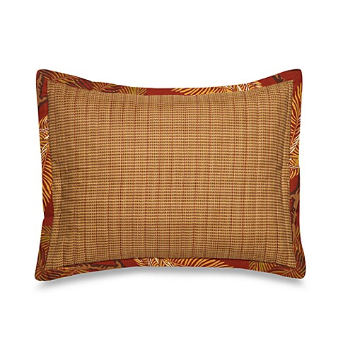 Tommy Bahama® Orange Cay Oblong Toss Pillow