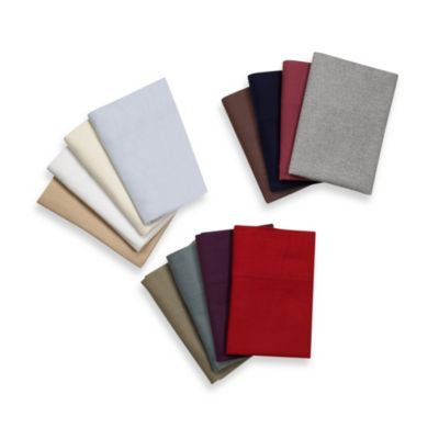 Collections® Full Flannel Sheet Set in Taupe