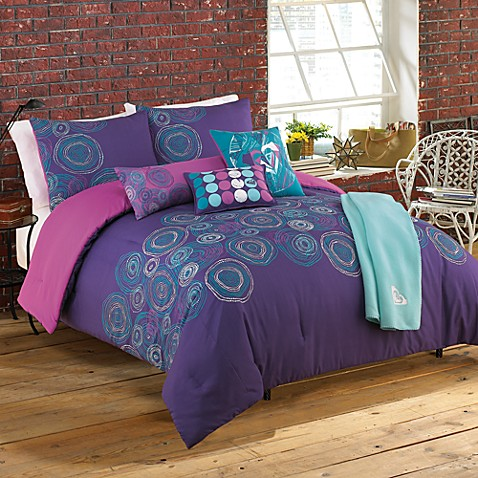Roxy Caroline Twin Extra Long Twin Complete Comforter Set Bed Bath Beyond
