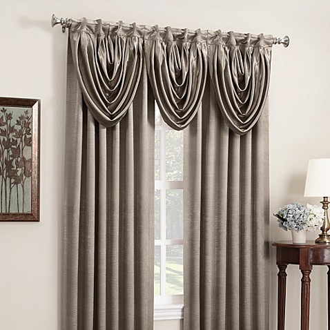 "Anastasia 108"" Rod Pocket/Back Tab Window Curtain Panel"