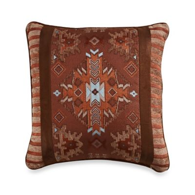 Pueblo 18-Inch Square Throw Pillow