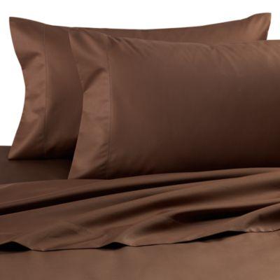 Wamsutta® Dream Zone® 750 Thread Count Full Deep Pocket Sheet Set in Chocolate
