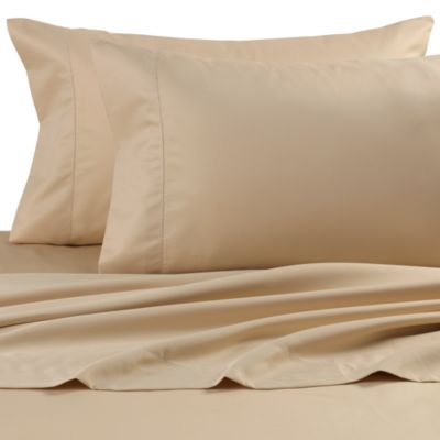 Wamsutta® Dream Zone® 750 Thread Count Standard Pillowcases in Chamois (Set of 2)