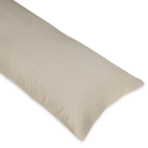 Eucalyptus Body Pillow Case In Ivory Bed Bath Amp Beyond