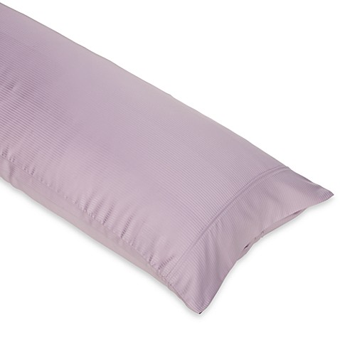 Eucalyptus Body Pillow Case in Purple
