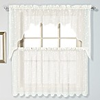 Savannah Linen Window Valance and Tier Pairs
