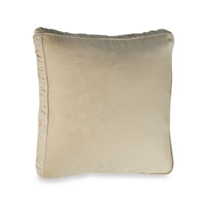 Barbara Barry® Pave 18-Inch Square Toss Pillow in Alabaster