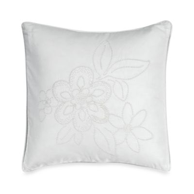 Barbara Barry® Pave Alabaster 16-Inch Square Toss Pillow