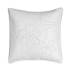 Barbara Barry® Pave 16-Inch Square Toss Pillow in Alabaster