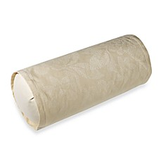 Barbara Barry® Pave Neckroll Toss Pillow in Alabaster