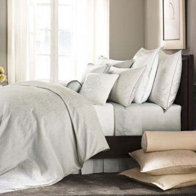 Barbara Barry® Pave Duvet Cover in Mineral