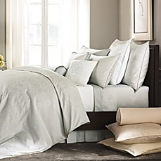 Barbara Barry® Pave Pintuck Sateen Fitted Sheet in Mineral