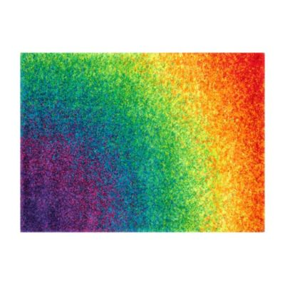 Loloi Rugs Barcelona Shag Rug in Rainbow