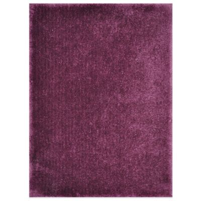 Loloi Rugs Cozy 5-Foot x 7-Foot 6-Inch Shag Rug in Prune