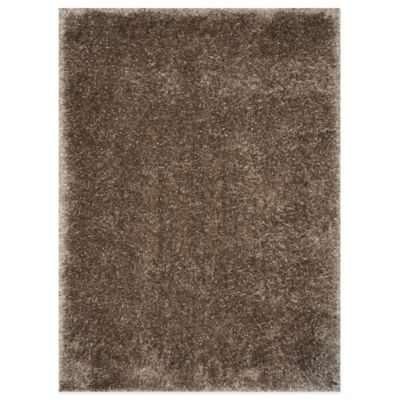 Loloi Rugs Cozy 5-Foot x 7-Foot 6-Inch Shag Rug in Taupe