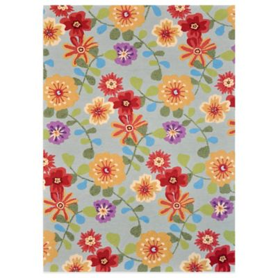 Loloi Rugs Juliana Celadon Floral 5-Foot x 7-Foot 6-Inch Rug