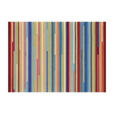 Loloi Rugs Juliana 3-Foot 6-Inch x 5-Foot 6-Inch Multi Stripe Rug
