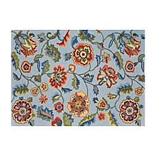 Loloi Rugs Juliana Floral Rugs in Blue
