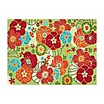 Loloi Rugs Juliana Floral Rug in Apple Green