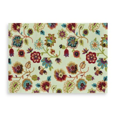 Loloi Rugs Juliana 3-Foot 6-Inch x 5-Foot 6-Inch Floral Rug in Ivory