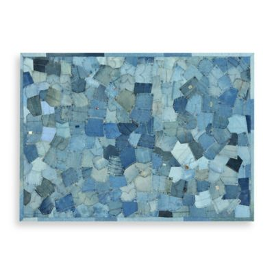 Loloi Rugs® Contemporary Runway Denim Pockets Area Rug