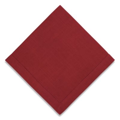 Rustic Napkin in Red
