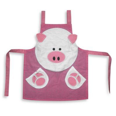 Children's Pig Apron