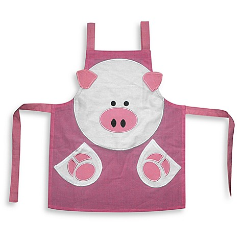 Children's Pig Apron