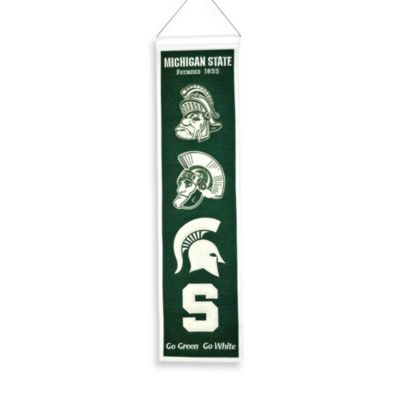Michigan State Collegiate Heritage Banner