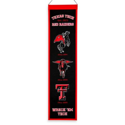 Texas Tech University Collegiate Heritage Banner