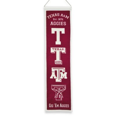 Texas A&M University Collegiate Heritage Banner