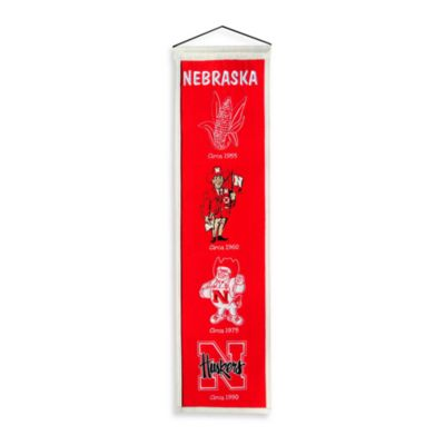 University of Nebraska Collegiate Heritage Banner