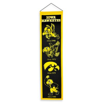 University of Iowa Collegiate Heritage Banner