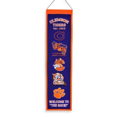 Clemson University Collegiate Heritage Banner