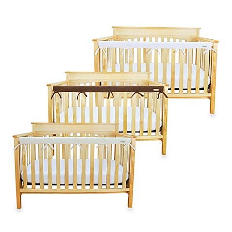 Teething Guards > Trend Lab® CribWrap™ Convertible Crib Long Narrow Rail Cover