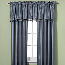Debut Solid Rod Pocket Window Curtain Panel
