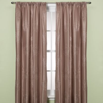 Claire 84-Inch Rod Pocket/Back Tab Window Curtain Panel