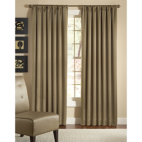 Designers' Select Kitano Solid Rod Pocket Window Curtain Panel