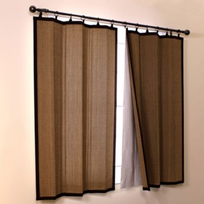 Bamboo Window Panels