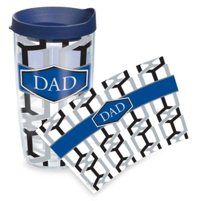 Tervis® 16-Ounce Dad Wrap Tumbler with Navy Travel Lid
