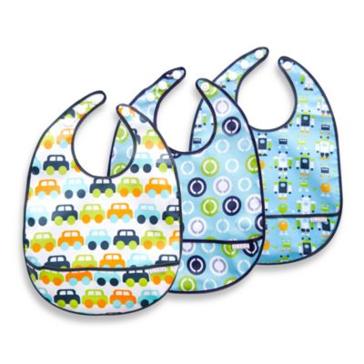 Bibs > JJ Cole® Bib Set in Boy