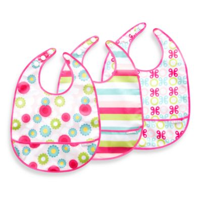 JJ Cole® Bib Set in Girl