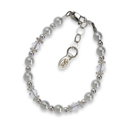 Cherished Moments Small Silver Blessing Bracelet